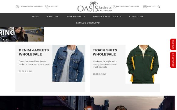 Oasis Jackets