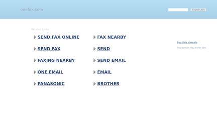 Onefax