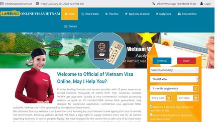 Online Visa Vietnam