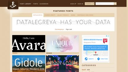 Openfontlibrary.org