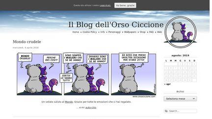 Il Blog Dell'Orso Ciccione