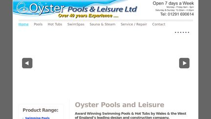 Oysterpools.co.uk