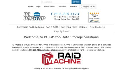 PC PitStop Data Storage Solutions