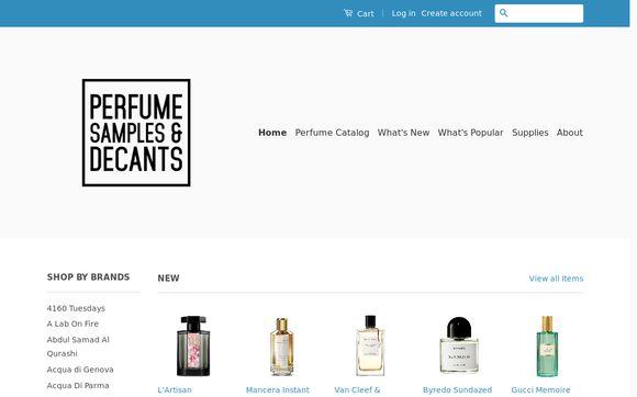 Perfume Samples & Decants
