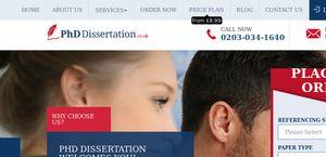 PhD Dissertation.co.uk