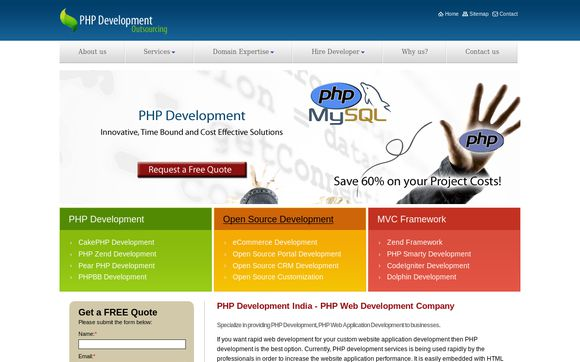PHP Development Outsourcing