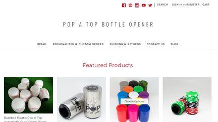 Pop A Top Bottle Opener