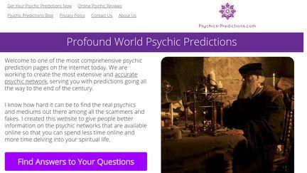 Psychics Predictions