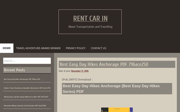 Rent Car In