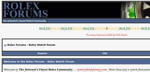Rolex Forums