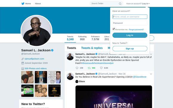 Samuel L. Jackson (@SamuelLJackson)