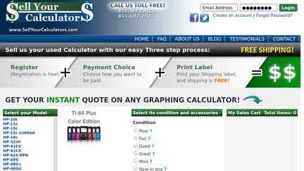 SellYourCalculators