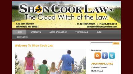Shon Cook Law