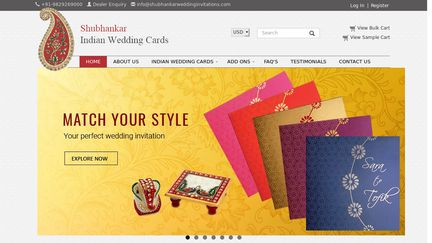 Shubhankar Wedding Invitations -