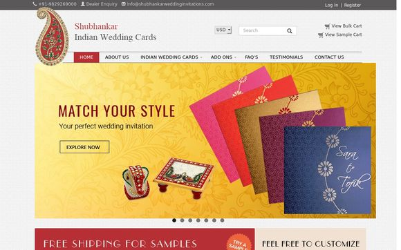 Shubhankar Wedding Invitations -