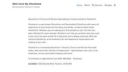 Skincarebyshoshana.com