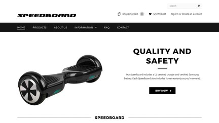 Speedboard
