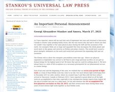 Stankov's Universal Law Press