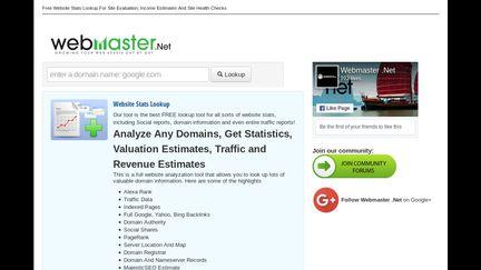 Stats.webmaster.net