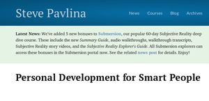 Stevepavlina.com