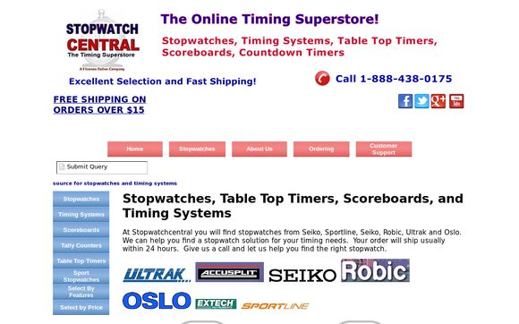Stopwatchcentral