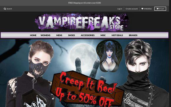 VampireFreaks Store