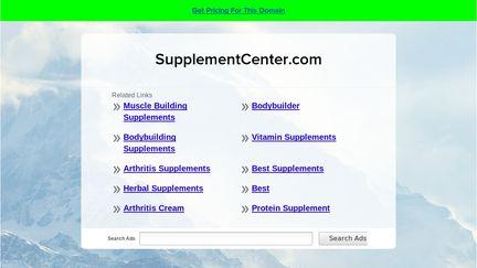 Supplementcenter
