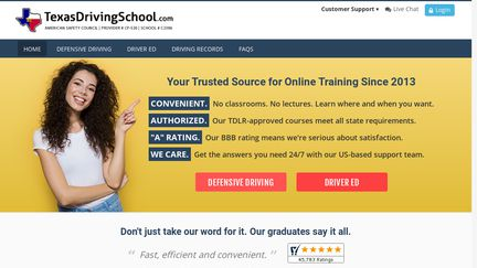 Texas Driver Education Online