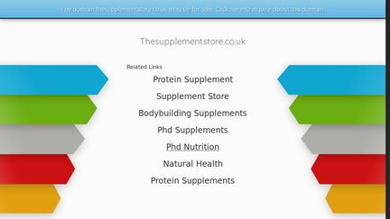 Thesupplementstore.co.uk