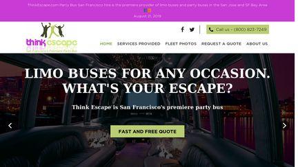ThinkEscape.com Party Bus