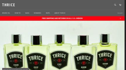 Thrice