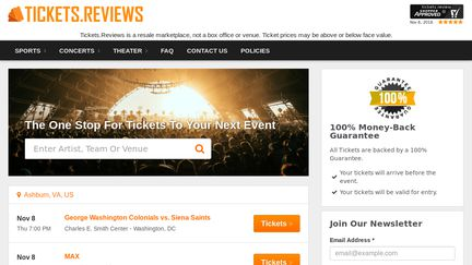 Tickets.reviews