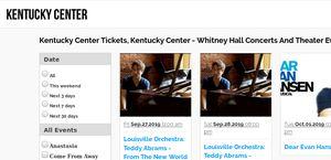 Ticketskentuckycenter.com