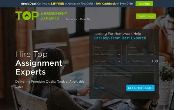 Top Assignment Experts