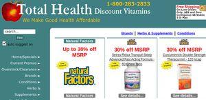 Total Health Discount Vitamins
