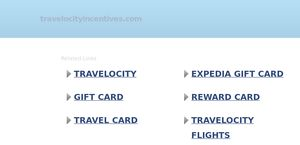 Travelocityincentives