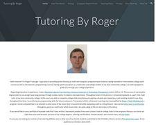 Tutoringbyroger.com