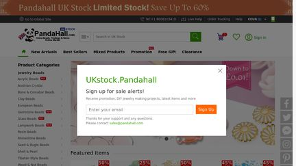 UKstock PandaHall