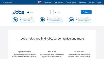 Universe.jobs