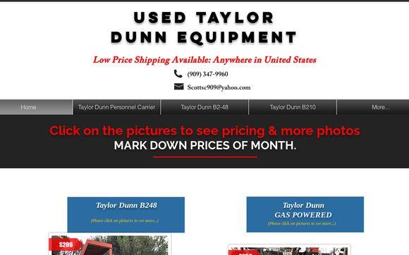 UsedTaylorDunnEquipment