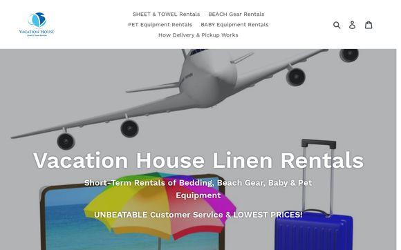 Vacation House Linen & Towel Rentals
