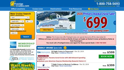 Prestige Cruises