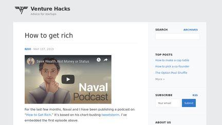 Venturehacks.com