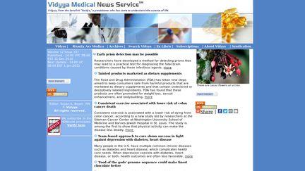 Vidyya Medical News Service