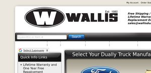 Wallis Dually Fenders USA