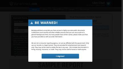WarrantCheck
