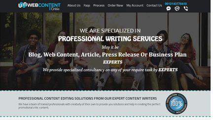 WebContentCritic
