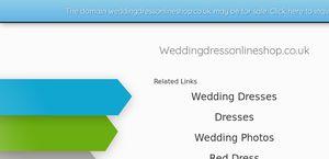 Weddingdressonlineshop.co.uk