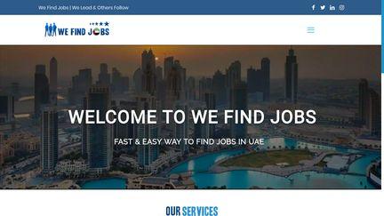 We Find Jobs UAE