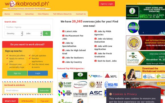 Work Abroad Philippines